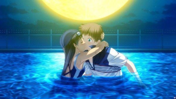 """Résultat de recherche d'images pour """"couple manga à la piscine"""""""