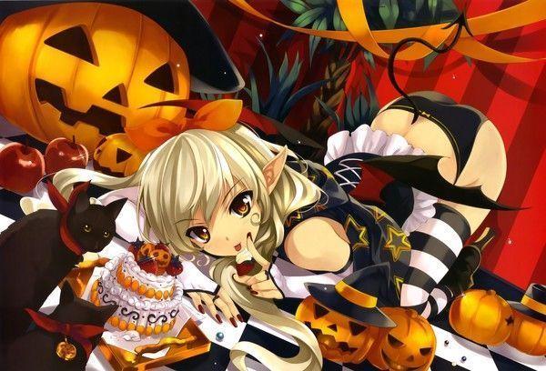 fond d'écran manga Halloween