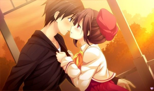 Tendre baiser ^^ (wallpapers manga)