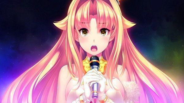 manga qui chante (fond d'écran)