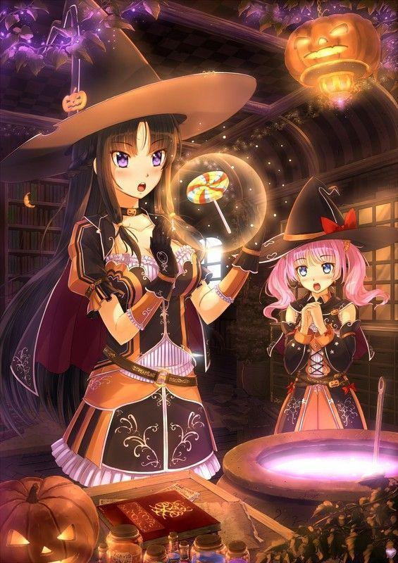 Halloween chez les animes ^^