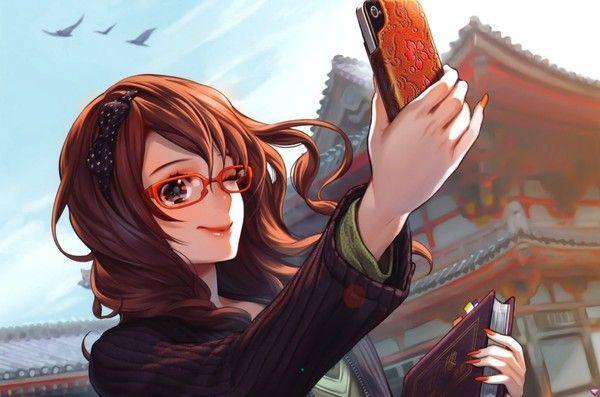 un sourire et je vous envoie la photo ^^ (wallpapers manga)