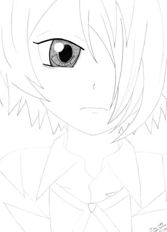 Mes dessins manga - Image de manga triste ...