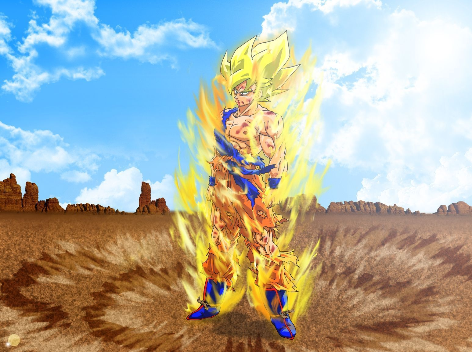 Wallpapers dragon ball z for Fond ecran dbz