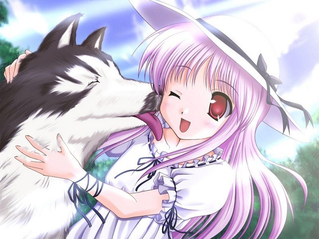 Manga et chien page 4 - Dessin manga animaux ...