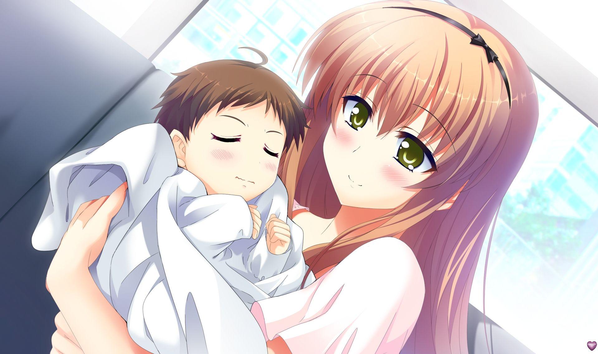 Manga et enfant - Image femme manga ...