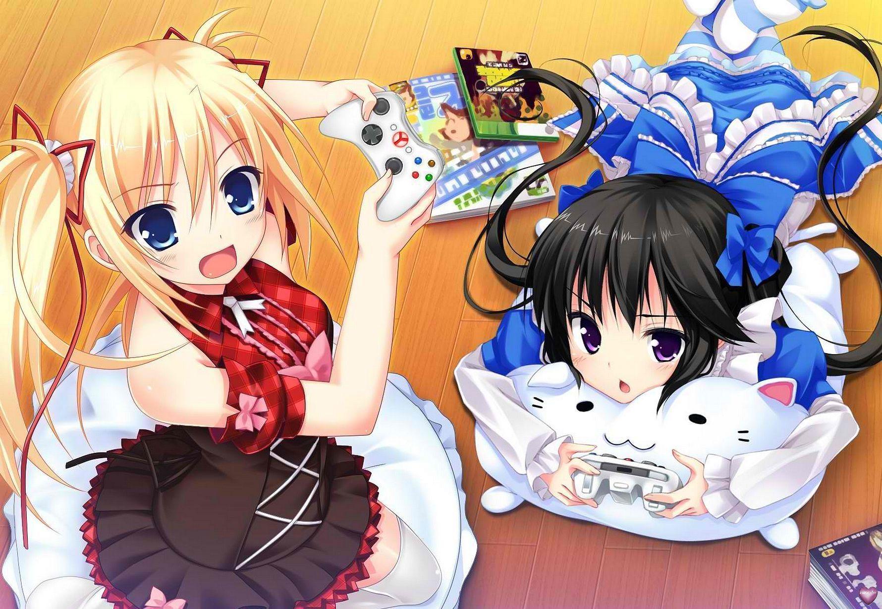 Image manga et jeux video - Filles mangas ...