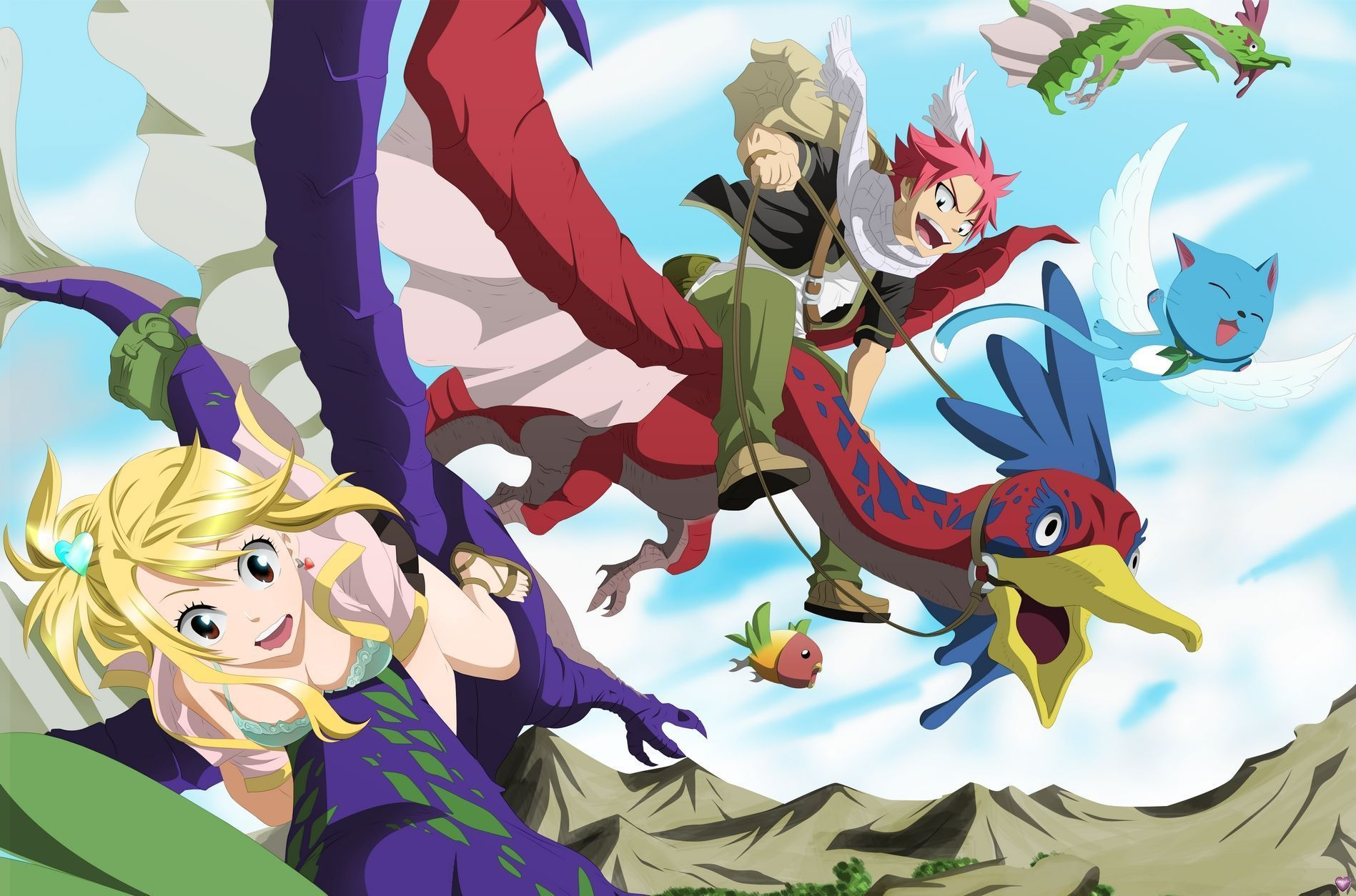 Fond D Ecran Fairy Tail