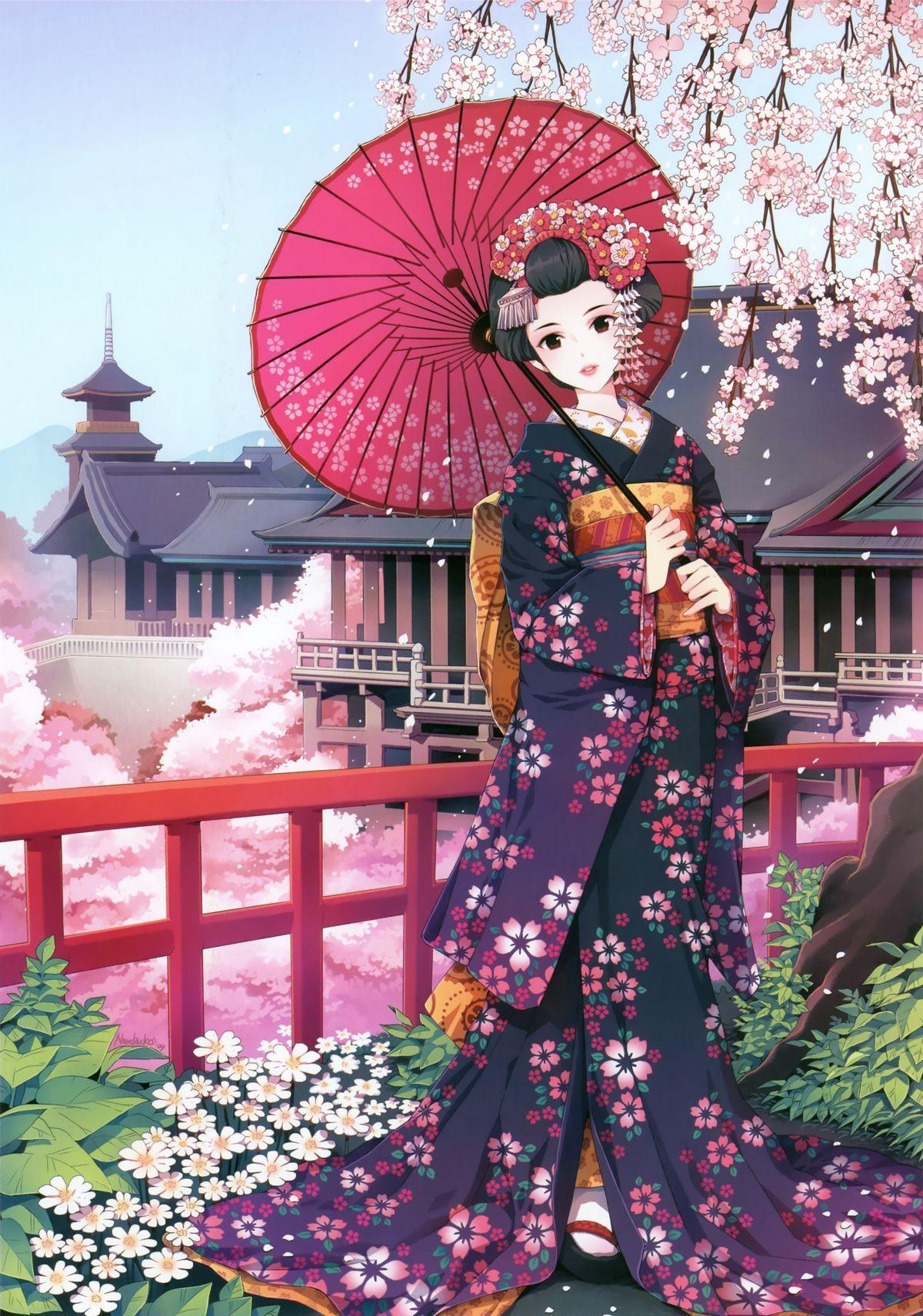 imperatrice en kimono
