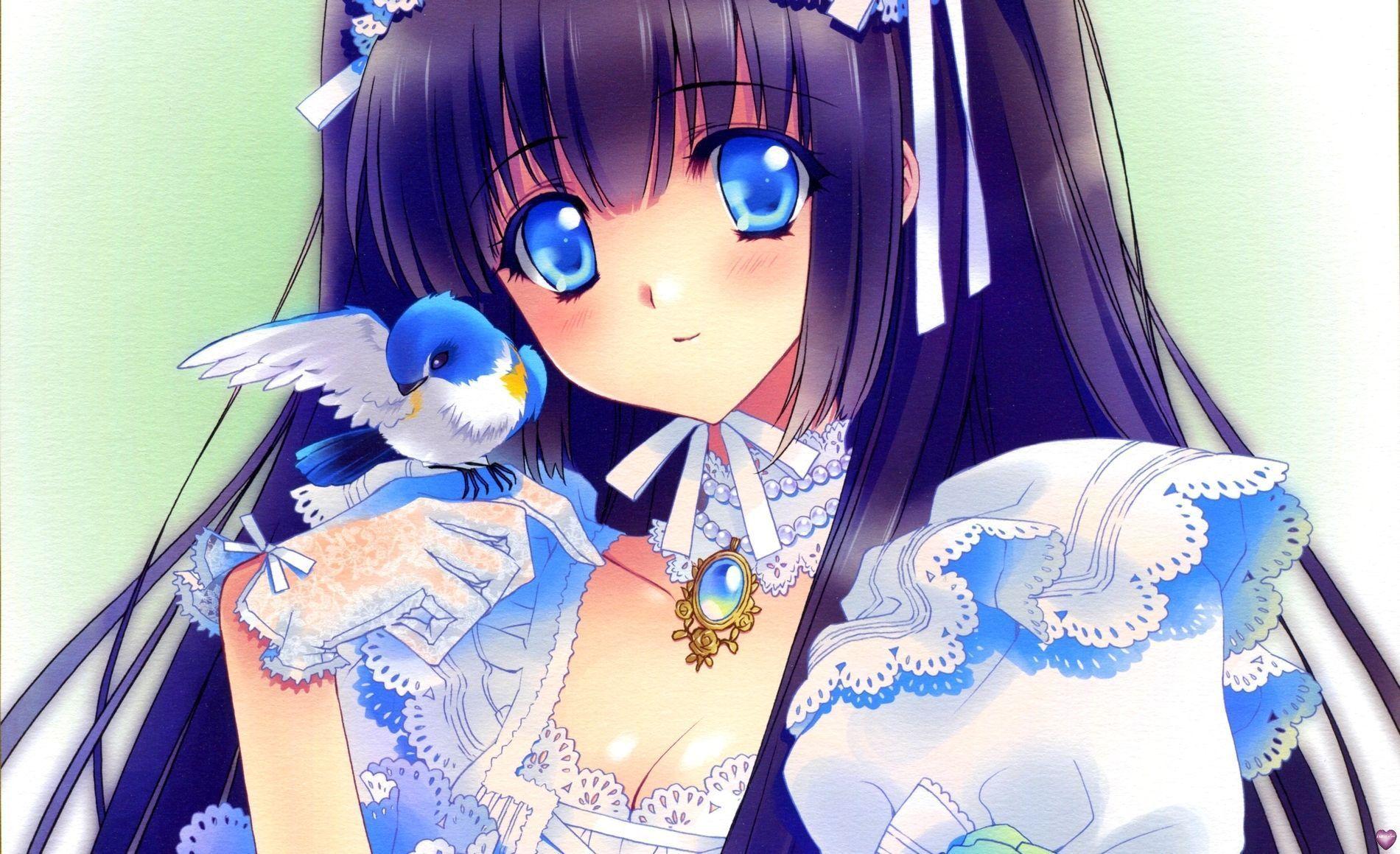 Manga et autre animaux - Image manga fille ...
