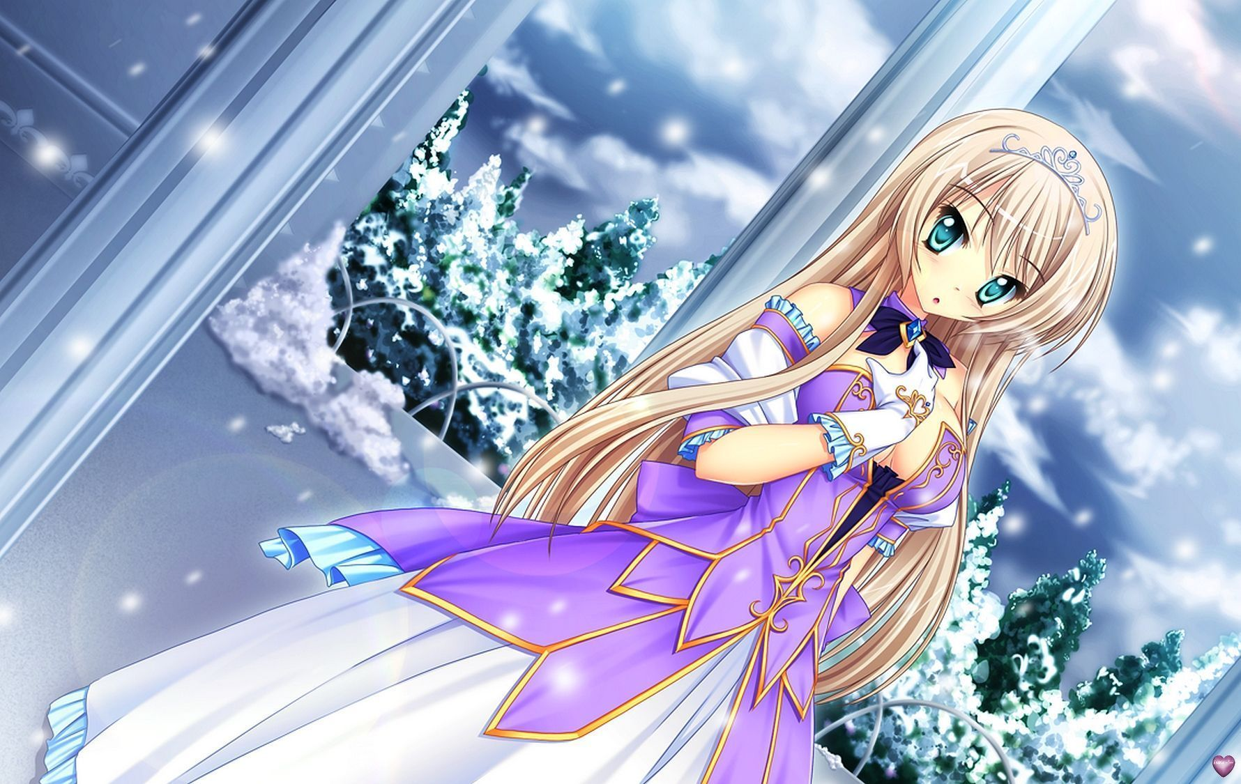 La belle princesse fond d 39 cran manga - Image de manga fille ...