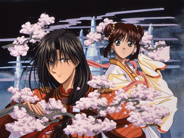 Displaying 17> Images For - Tasuki And Miaka Kiss...